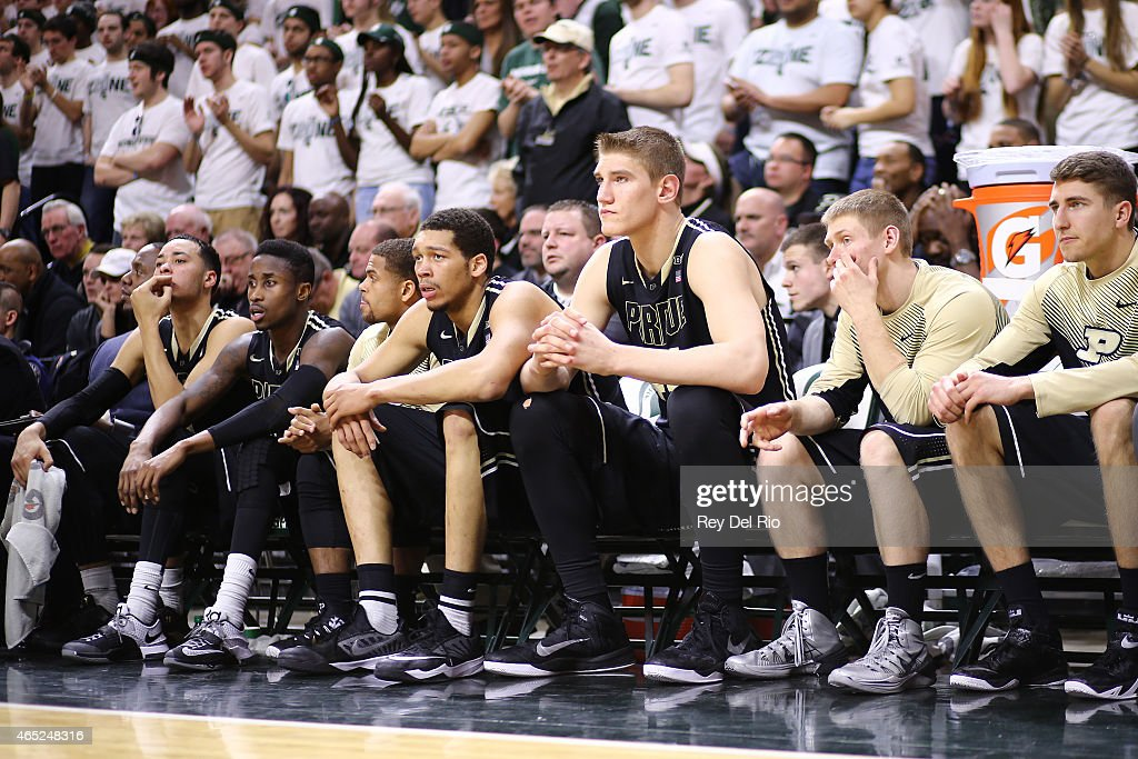 Purdue v Michigan State : News Photo