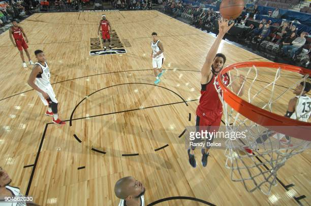 Hammons of the Sioux Falls Skyforce shoots the ball during the NBA GLeague Showcase Game 22 between the Sioux Falls Skyforce and the Raptors 905 on...