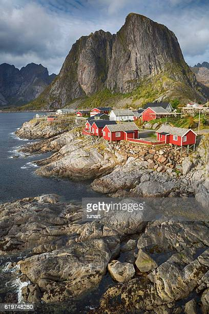 Hamnoy Fishing Village, Lofoten, Norway