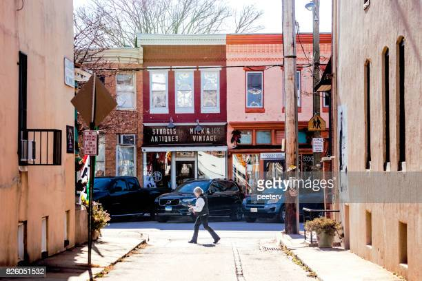 hampden district - baltimore, md - baltimore stock photos and pictures