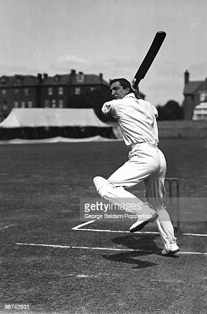Hampshire and England batsman Charles Burgess Fry usually known as CB Fry circa 1905