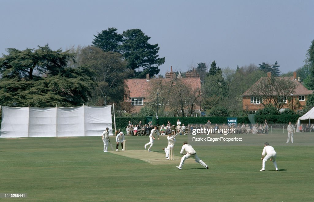 John Player League - Hampshire v Somerset : News Photo