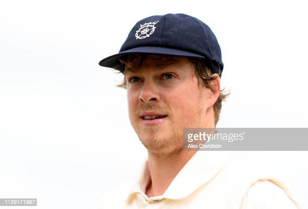 Hampshire captain Sam Northeast during Day One of the Specsavers County Championship Division One match between Somerset and Hampshire at The Cooper...