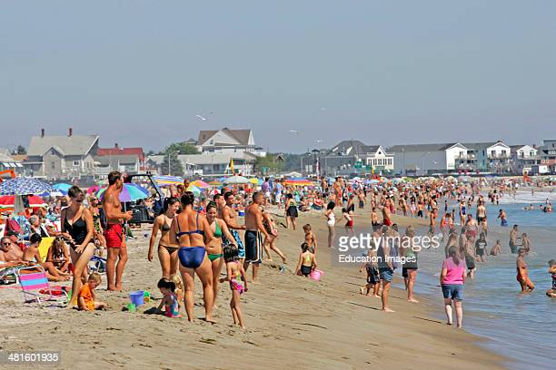 Hampton Beach New Hampshire Stock