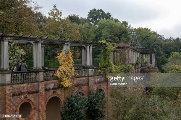 Hampstead Hill and Pergola on the 15th October 2019 in London in the United Kingdom.