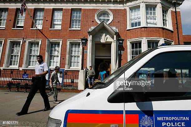 Hampstead Police Station one of many police stations which are likely to be closed in the future on June 9 2008 in London England Despite some...