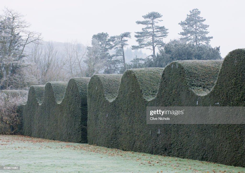 Hampton Court Castle and Gardens : Stock Photo