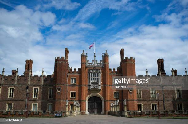 Hampton Court Palace is pictured in London on June 16, 2019.