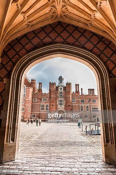 hampton court palace, london, uk - hampton court stock pictures, royalty-free photos & images