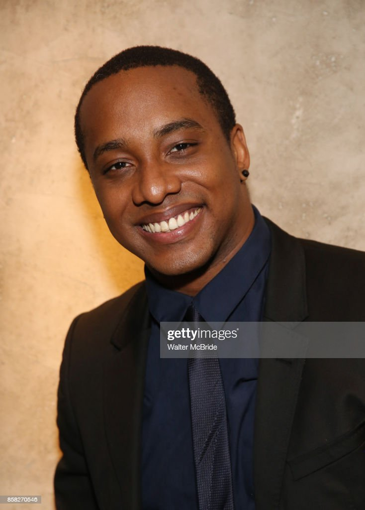 Hampton Fluker attends the Roundabout Theatre Company's Opening Night Party for 'Too Heavy For Your Pocket' at Burger and Lobster on October 5, 2017 in New York City.