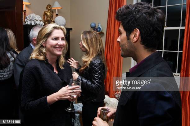Hampton Luzak and Joey Maalouf attend Ashley McDermott and Bridget Gless Keller Host a Cocktail Party Celebrating Mary McDonald at Private Residence...