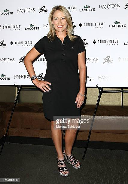 Hamptons Cover Star and ranked women's golfer Christie Kerr attends Hamptons magazine Celebrates Cristie Kerr with Double Cross Vodka at SEN NYC on...