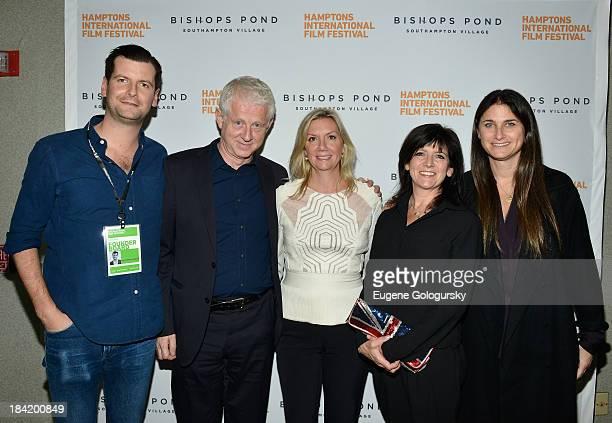 Hamptons International Film Festival Advisory Board Member Luke Parker Bowles Richard Curtis Hamptons International Film Festival Executive Director...
