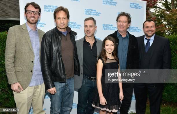 Hamptons International Film Festival Artistic Director David Nugent David Duchovny director Anthony Fabian Olivia Steele Falconer Timothy Hutton and...