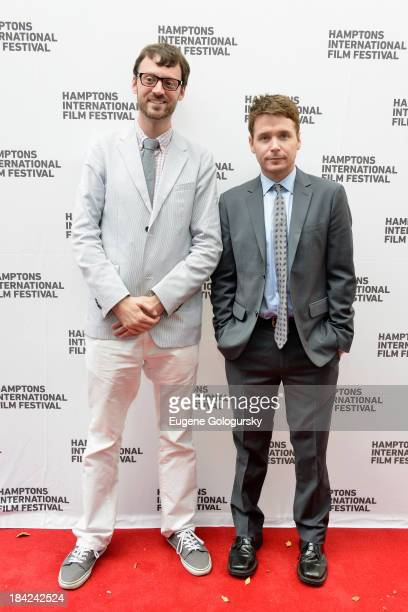 Hamptons International Film Festival Artistic Director David Nugent and actor Kevin Connolly attend the 21st Annual Hamptons International Film...