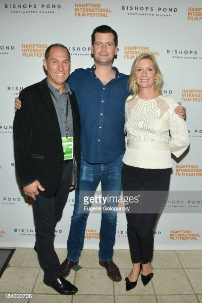Hamptons International Film Festival Board of Directors Chairman Stuart Match Suna, Hamptons International Film Festival Advisory Board Member Luke...