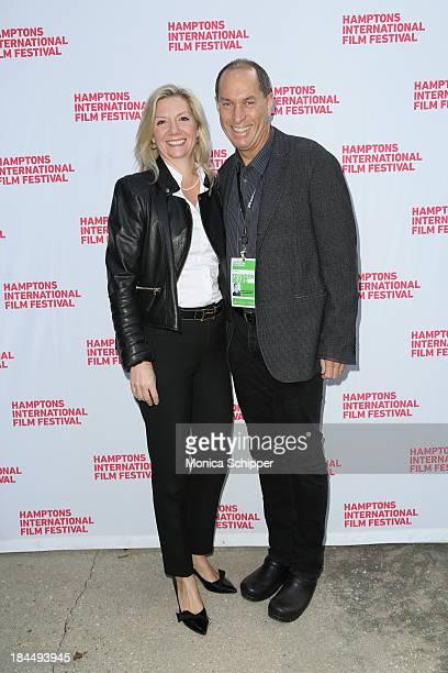 Hamptons International Film Festival Executive Director Anne Chaisson and Hamptons International Film Festival Board of Directors Chairman Stuart...