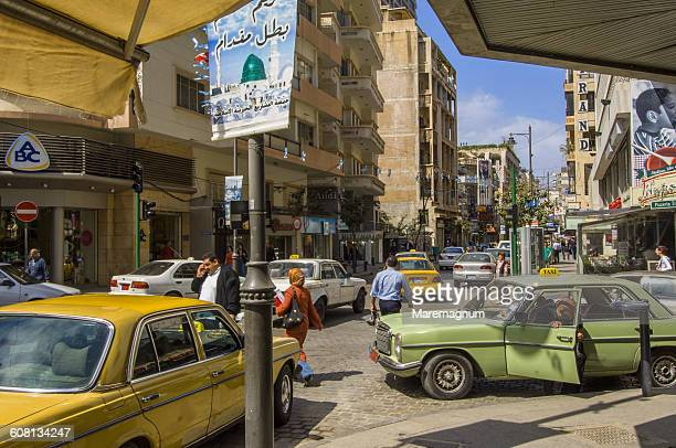 hamra district - beirut stock pictures, royalty-free photos & images