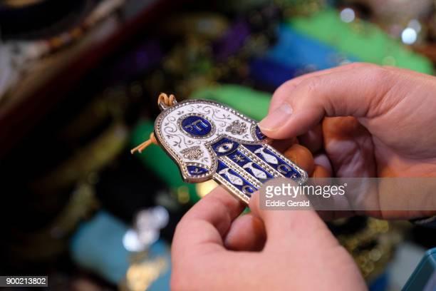 hamsa amulet - hamsa symbol stock photos and pictures