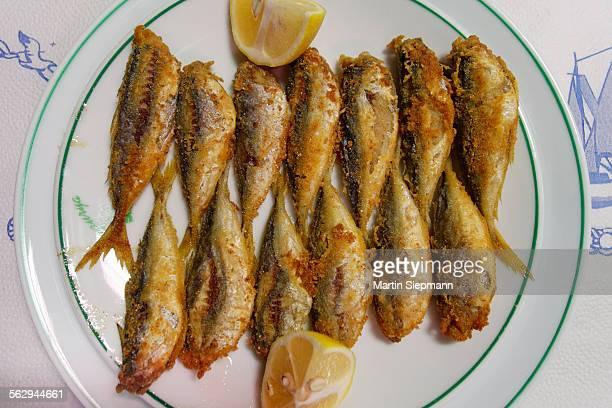 Hamsi, fried anchovies, Black Sea Region, Turkey