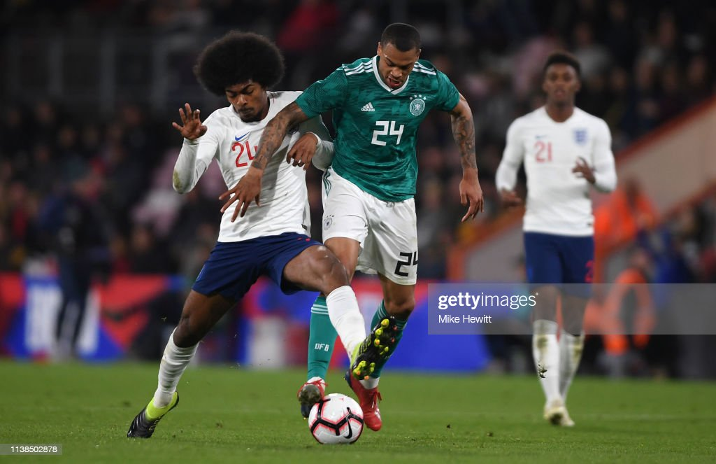 England U21 v Germany U21 - International Friendly : News Photo