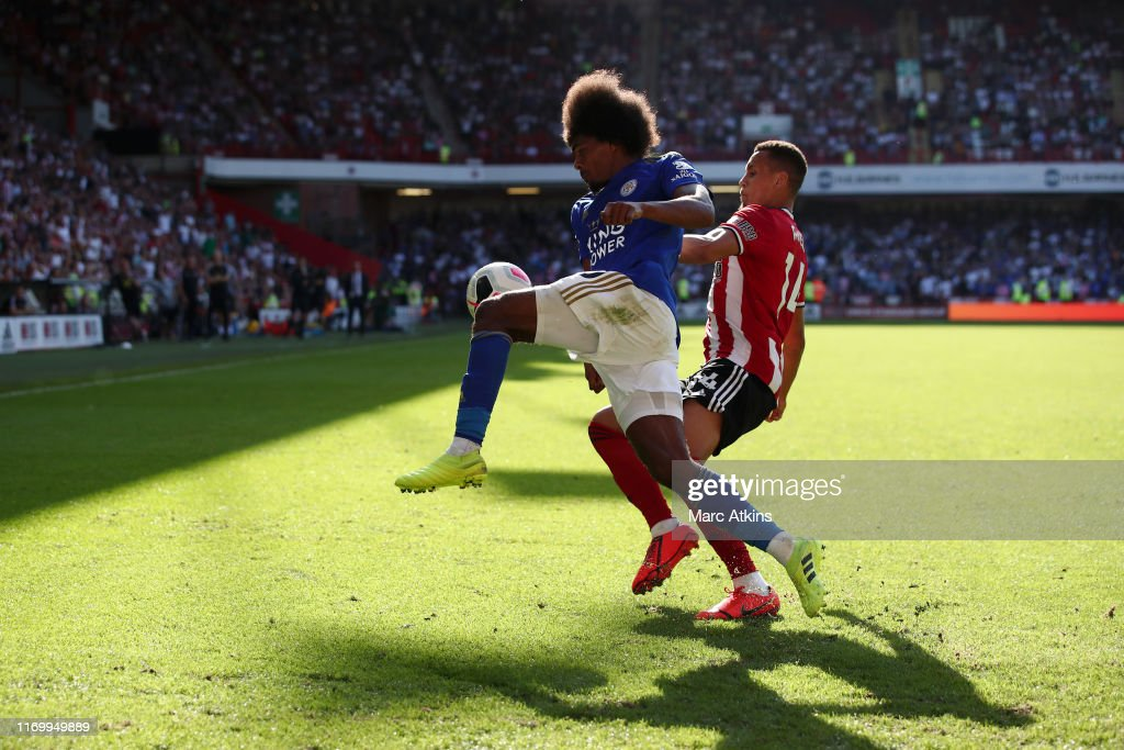 Sheffield United v Leicester City - Premier League : News Photo