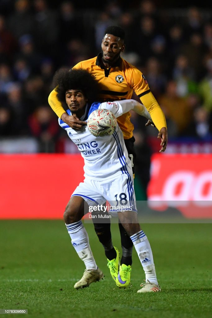 Newport County v Leicester City - The Emirates FA Cup Third Round : News Photo