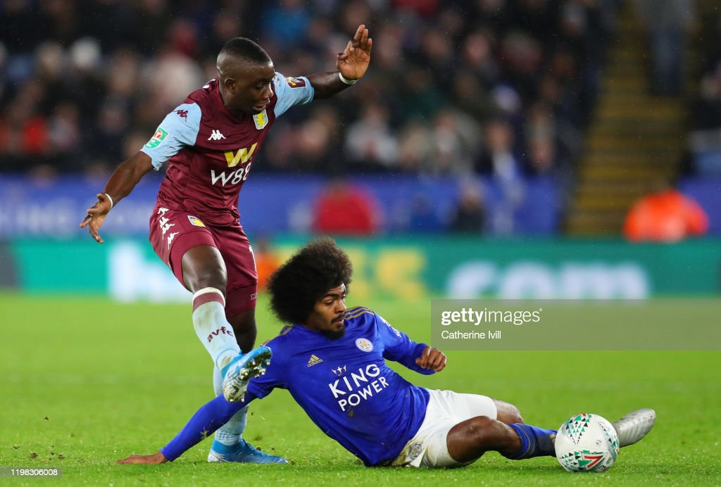 Leicester City v Aston Villa - Carabao Cup: Semi Final : News Photo