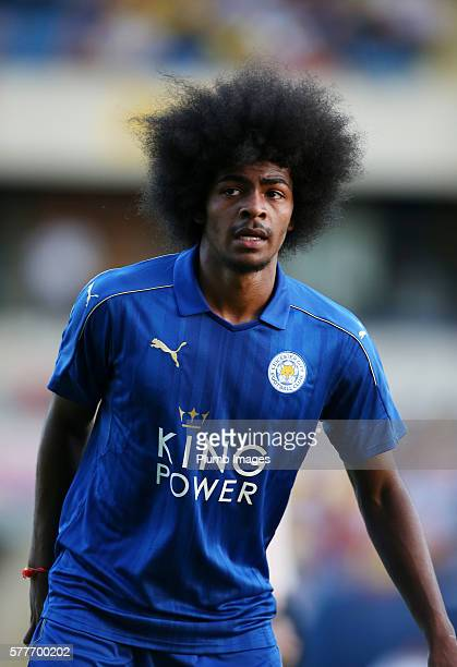 Hamza Choudhury of Leicester City during the pre season friendly between Oxford United and Leicester City at Kassam Stadium on July 19 2016 in Oxford...