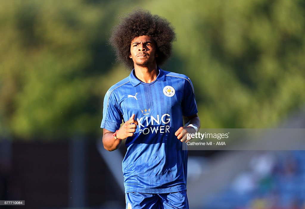 Hamza Choudhury of Leicester City during the Pre-Season Friendly match between Oxford United and Leicester City at Kassam Stadium on July 19, 2016 in Oxford, England.