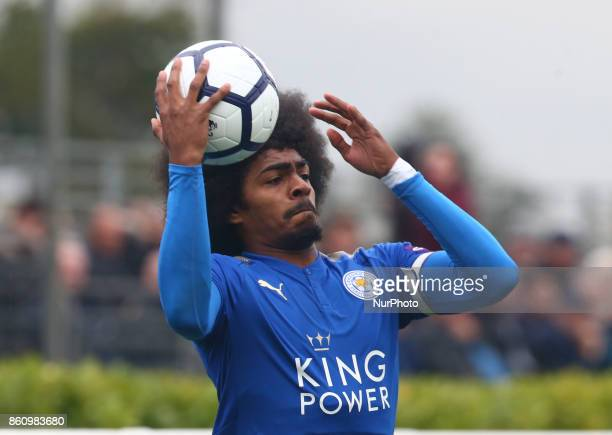Hamza Choudhury of Leicester City Under 23s during Premier League 2 Div 1 match between Tottenham Hotspur Under 23s against Leicester City Under 23s...