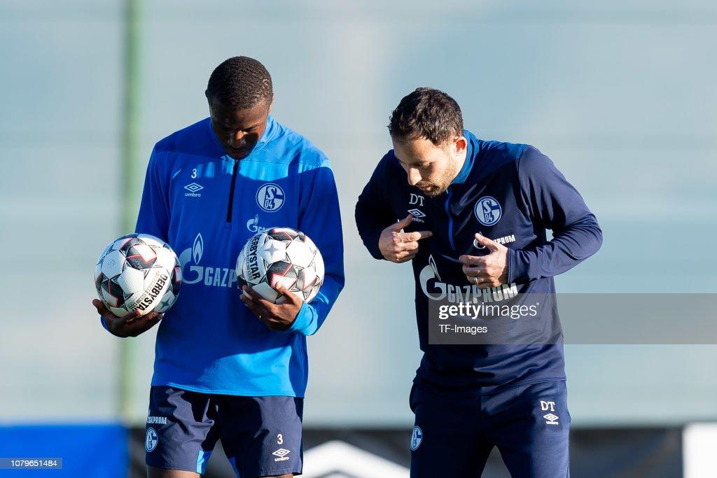 FC Schalke 04 Benidorm Training Camp : News Photo
