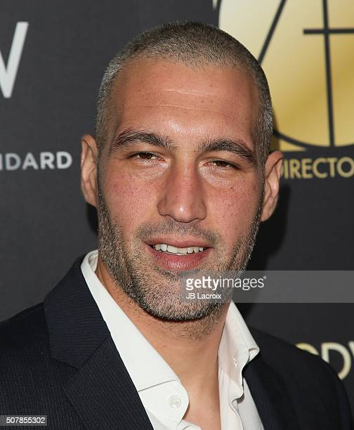 Hamzi Hijazi attends the Art Directors Guild 20th Annual Excellence in Production Awards at The Beverly Hilton Hotel on January 31 2016 in Beverly...