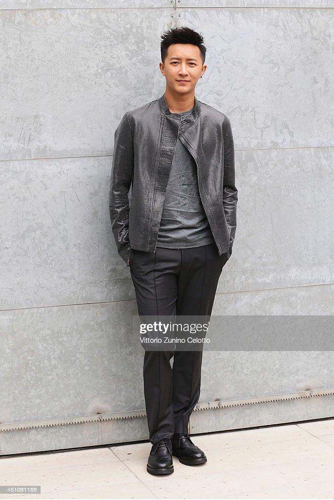 Emporio Armani - Front Row - Milan Fashion Week Menswear Spring/Summer 2015