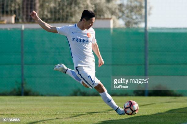 Han Guanghui during the friendly match between Royal Charleroi SC vsYanbian Funde FC at Pinatar Arena Murcia SPAIN 10th January of 2018