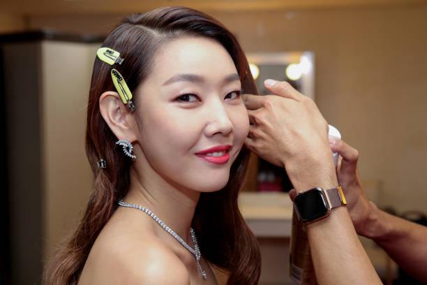 KOR: Host Han Hye Jin Gets Ready For The 56th Daejong Film Awards