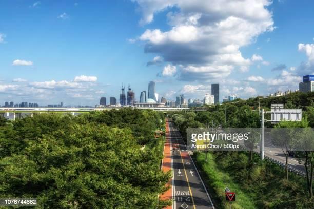 Han river bike road