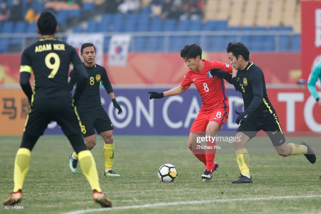 AFC U23 Championship Quarter-final: South Korea v Malaysia