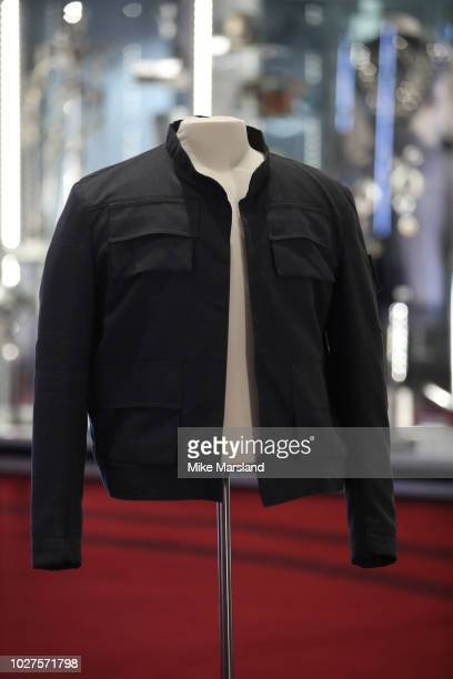Han Solo's Jacket from The Empire Strikes Back seen during the TV Memorabilia Auction preview Photocall at BFI IMAX on September 6, 2018 in London,...