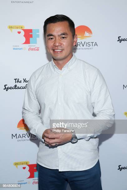 Han Soto attends The Year of Spectacular Men premiere at the 4th Annual Bentonville Film Festival Day 4 on May 4 2018 in Bentonville Arkansas