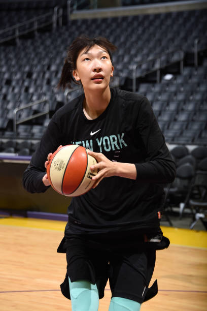 CA: New York Liberty v Los Angeles Sparks