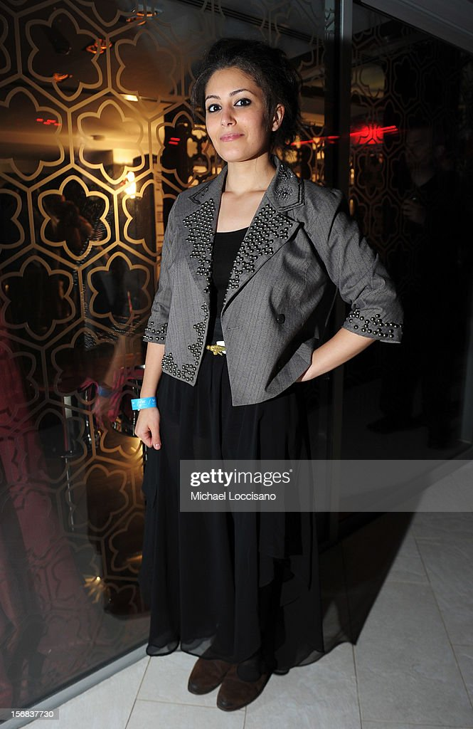 Hana Abdalla attends the Awards After Party during 2012 Doha Tribeca Film Festival at W Hotel on November 22, 2012 in Doha, Qatar.
