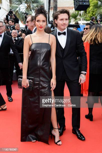 Hana Cross and attends the screening of Once Upon A Time In Hollywood during the 72nd annual Cannes Film Festival on May 21 2019 in Cannes France