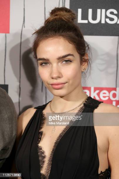 Hana Cross attends the Fabulous Fund Fair event during London Fashion Week February 2019 at the The Roundhouse on February 18 2019 in London England
