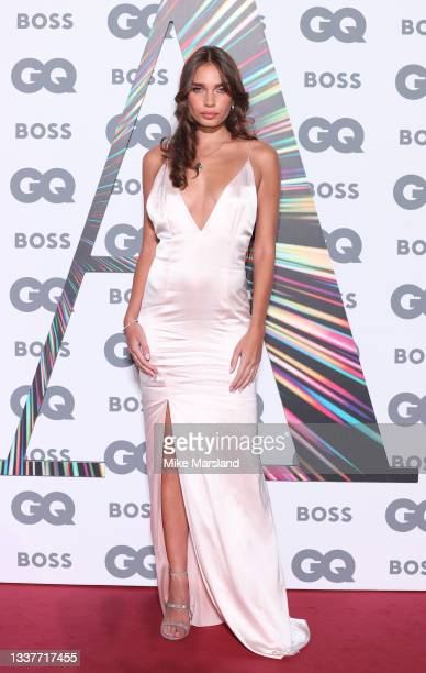 Hana Cross attends the GQ Men Of The Year Awards 2021 at Tate Modern on September 01, 2021 in London, England.