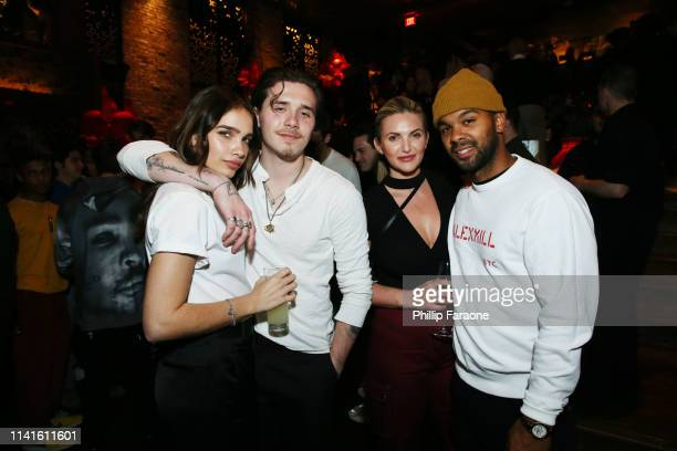 Hana Cross Brooklyn Beckham and guests attend Twenty Celebrates It's Official Launch At TAO Los Angeles at TAO on April 09 2019 in Los Angeles...