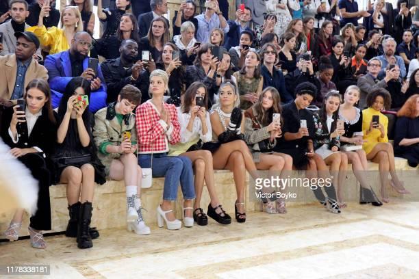 Hana Cross Yang Chaoyue Lachlan Watson Pixie Geldof Alexa Chung Rita Ora Raffey Cassidy Kiersey Clemons Bel Powley Lili Reinhart and Gugu MbathaRaw...