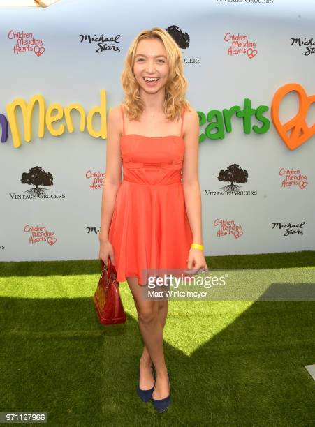 Hana Hayes attends Children Mending Hearts' 10th Annual Empathy Rocks on June 10 2018 in Los Angeles California