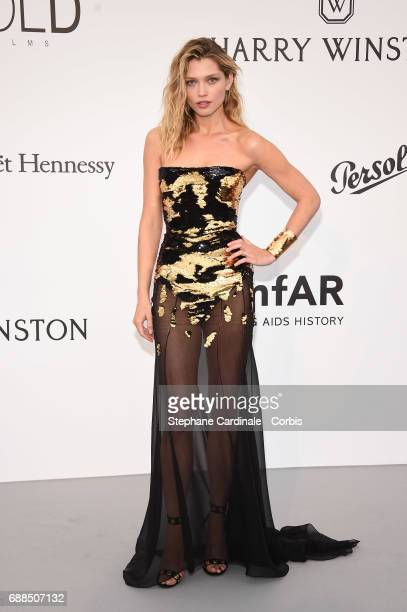 Hana Jirickova arrives at the amfAR Gala Cannes 2017 at Hotel du CapEdenRoc on May 25 2017 in Cap d'Antibes France