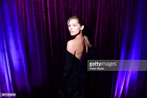 Hana Jirickova attends TSUM 110th Anniversary Celebration Party on October 26 2017 in Moscow Russia